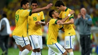 Fred and Neymar claim Confeds Cup for Brazil