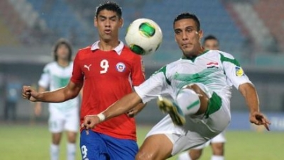 Iraq beat Chile to finish top