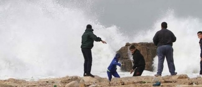 Violent storm disrupts Beirut flights, schools ordered shut