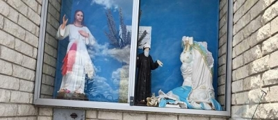 Sacred statue of the Virgin Mary decapitated in disgraceful attack on Catholic church