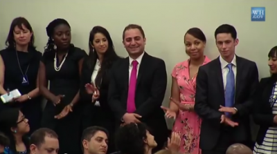 Lebanese Ziad Sankari is Being Recognized by President Obama as one of the Top Entrepreneurs (video)