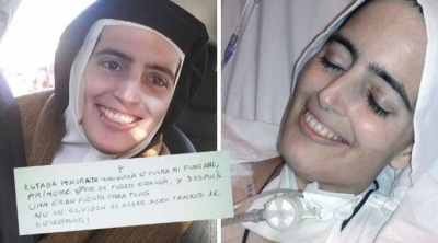 Nun Dies with Beautiful Smile and Leaves a Message - RIP Sister Cecilia (Share)
