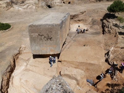 Archaeologists Discover The World's Largest Ancient Stone Block