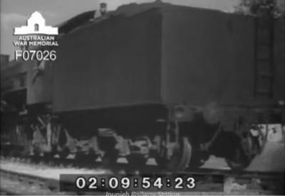 Jbeil Byblos - Jounieh Railway Opening 1942 (video)
