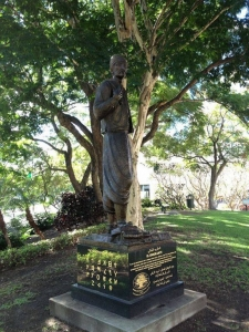 El Emigrante, a statue commemorates the Lebanese people who have settled in Australia