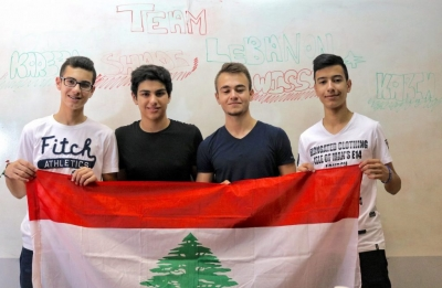 "Lebanon wins 3rd Place of ""The Albert Einstein's Global International Excellence Award"""