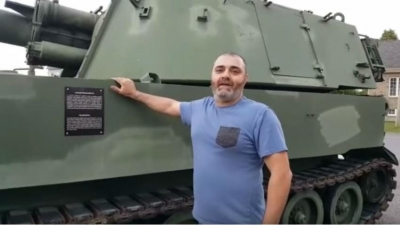 A Lebanese-Canadian Man Says He Bought a Tank For The Lebanese Army