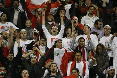 Syria fans unite for crucial match against Caltex Socceroos!
