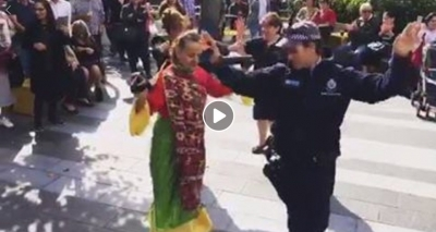 Coffee with a Cop was a whole latte fun yesterday! This officers dance moves