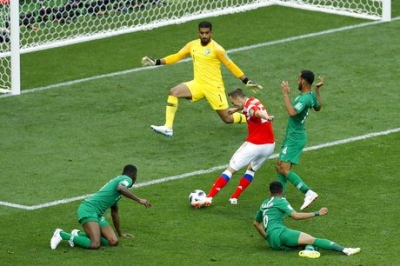 Cheryshev Stars as Russia Rout Saudi Arabia in World Cup Opener