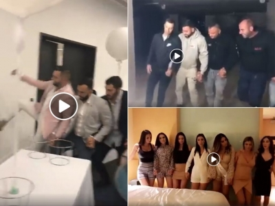 The First 3 Dabke Challenge videos!