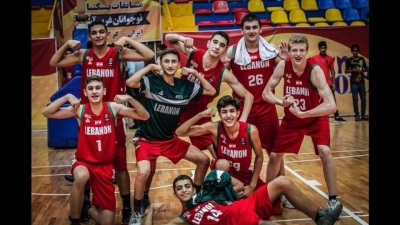 Lebanon winners of WABA U16 Championship after beating Iran 66-64